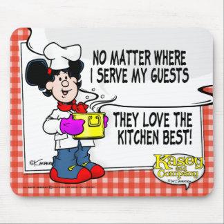 Ame el mejor de la cocina alfombrilla de ratón