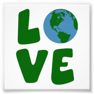Ame el planeta de la madre tierra fotos