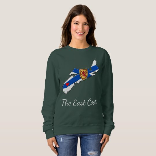 Ame la camisa de Nueva Escocia del corazón de la