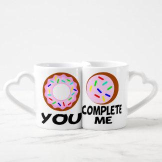 AME, los pares divertidos, boda divertida, el día Set De Tazas De Café