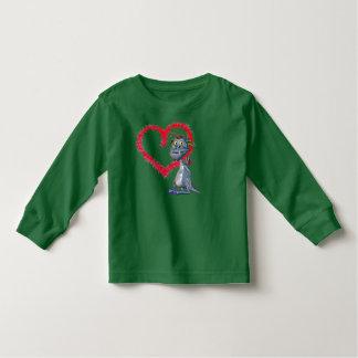 Ame mi camiseta del dragón del mascota