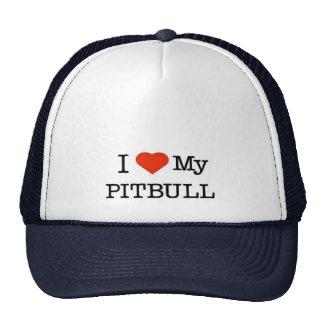 Ame mi Pitbull Gorro De Camionero