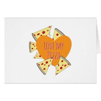 Ame mi pizza tarjetas