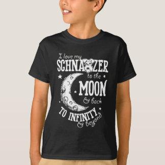 Ame mi Schnauzer al infinito y más allá de la Camiseta