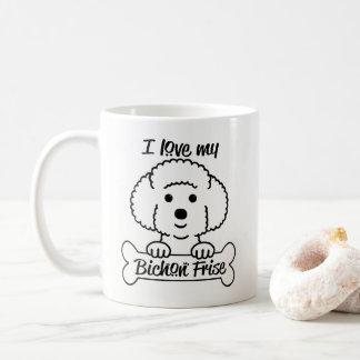 Ame mi taza de Bichon Frise