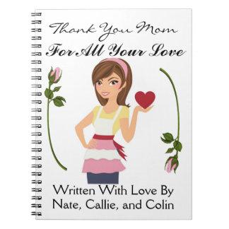 Ame mimar/abuela/esposa - SRF de las notas Libros De Apuntes Con Espiral