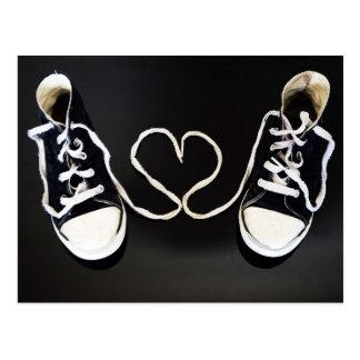 Ame mis zapatos postal