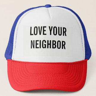 Ame su gorra vecino