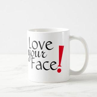 Ame su taza de la cara