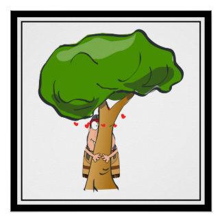 Ame un día del árbol - árbol Hugger