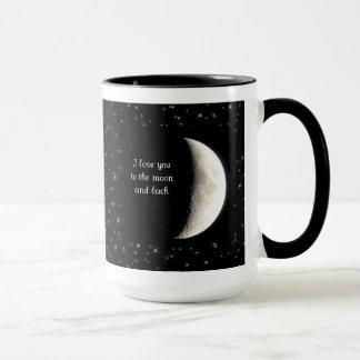 Ámele a la luna y a la taza trasera