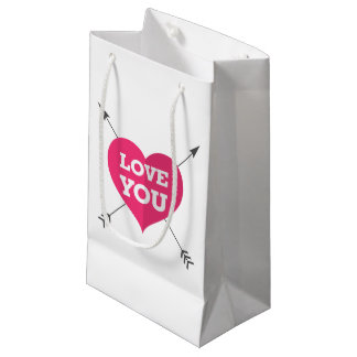 Ámele bolso del regalo bolsa de regalo pequeña