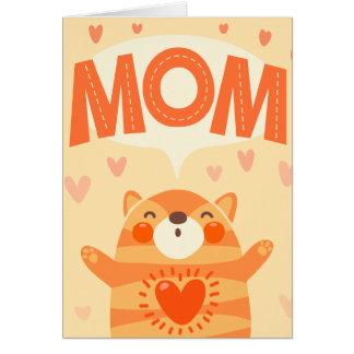 ámele mamá tarjeta de felicitación