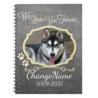 Ámele persiguen para siempre el recuerdo cuaderno