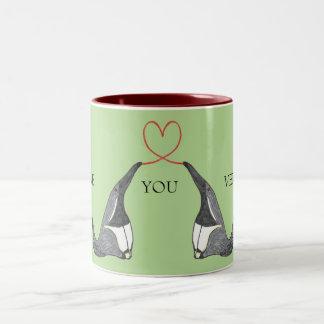 Ámele taza con los Anteaters lindos