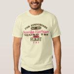 Amelia Earhart aniversario de 75 años Camisetas