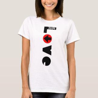 Ámelo la camiseta básica de las mujeres de los