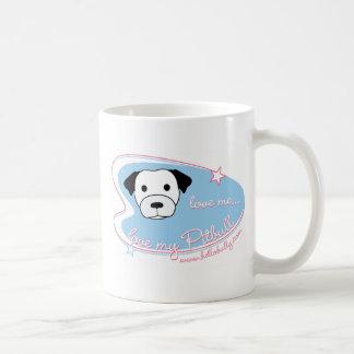 ¡Ámeme… amor mi Pitbull! Taza de café