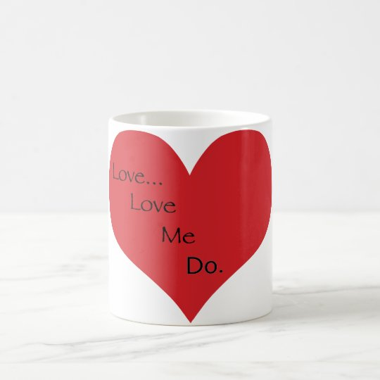 Ámeme para hacer la taza
