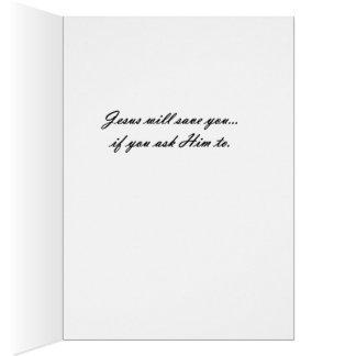 Amemos a un más niño tarjeta de felicitación