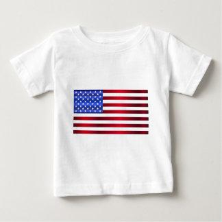América-Bandera Camiseta De Bebé