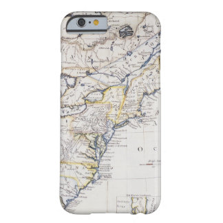 AMÉRICA COLONIAL: MAPA, c1770 Funda Barely There iPhone 6