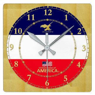 América colorea el regalo moderno del reloj de