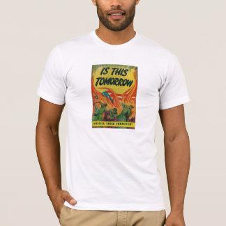 América debajo de la camiseta del fuego