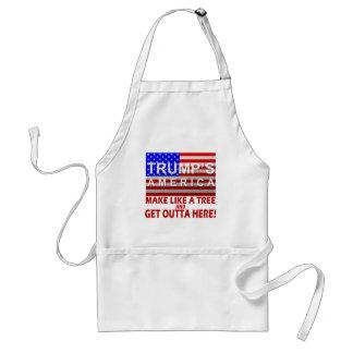 América del triunfo - haga como un árbol delantal