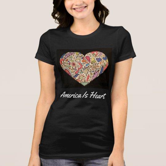 América es la camiseta de las mujeres del corazón