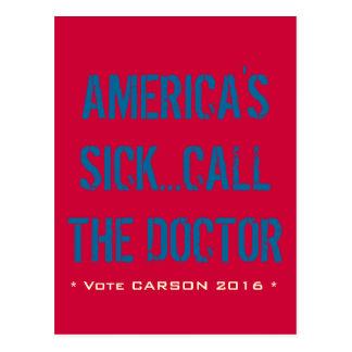 América es la postal enferma 2016 de Carson del vo