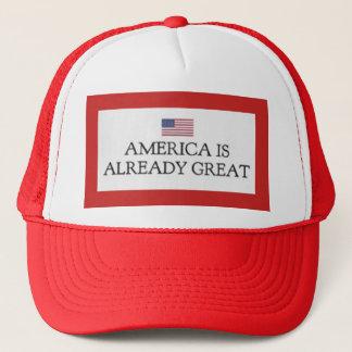 América es ya gran gorra del camión