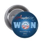 América ganó el 6 de noviembre de 2012 pin