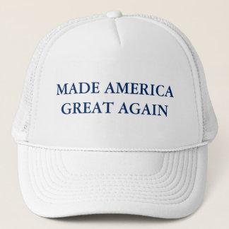 América hecha gran otra vez - gorra del camionero