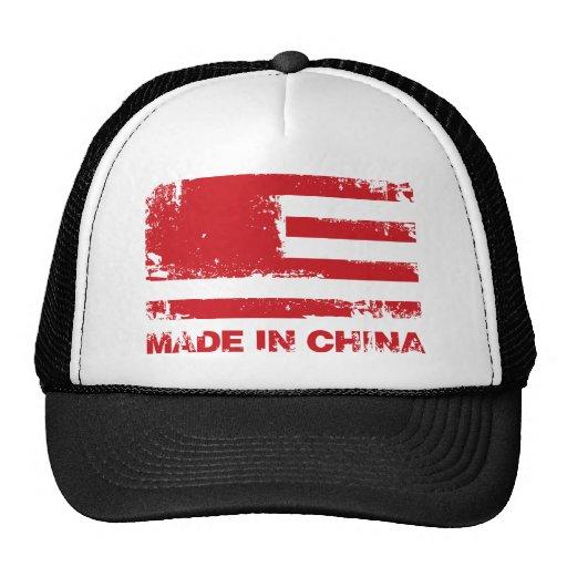 América hizo en China - rojo Gorro