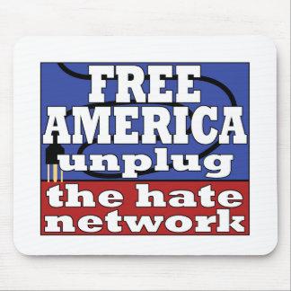 América libre alfombrilla de raton