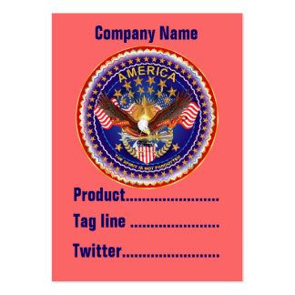 América no olvidada 1 negocio Vert de la tarjeta. Tarjetas De Visita Grandes