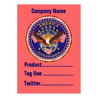 América no olvidada 1 negocio Vert de la tarjeta. Tarjeta De Visita