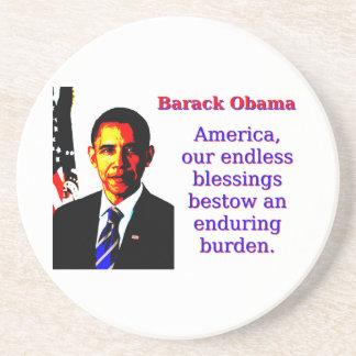 América nuestras bendiciones sin fin - Barack Posavasos