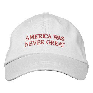 """""""América nunca era gran"""" gorra"""