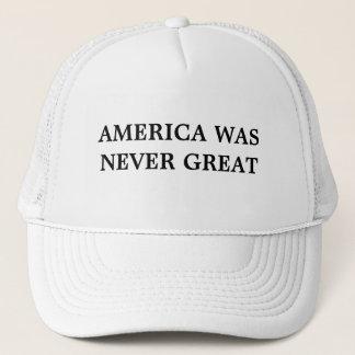 América nunca era gran gorra