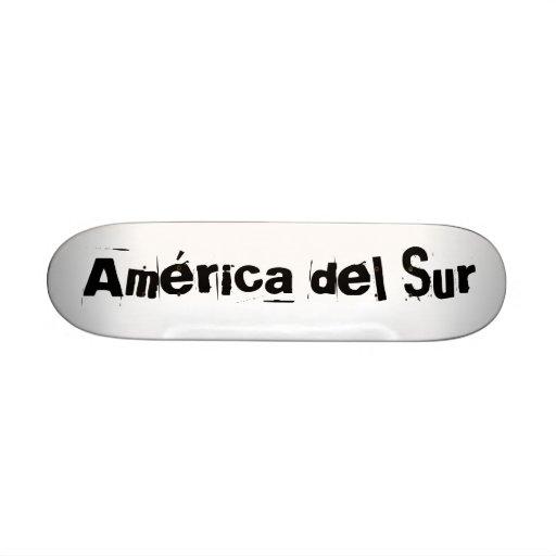América Tablas De Skate