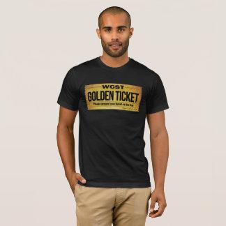 American Apparel básico de los hombres DE ORO del Camiseta
