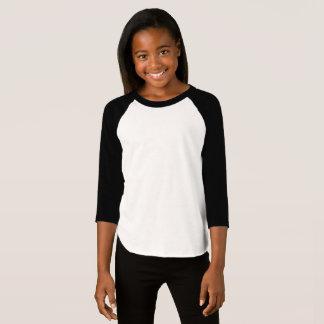 American Apparel de los chicas 3/4 camiseta del
