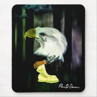 American Eagle Cries Mousepad
