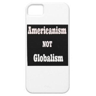 Americanismo, NO globalismo Funda Para iPhone SE/5/5s