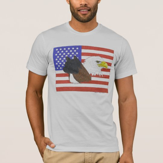 Americano Akita Camiseta
