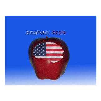 """Americano Apple "" Postal"