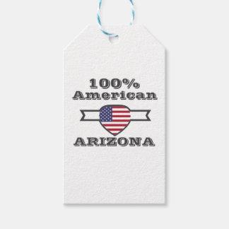 Americano del 100%, Arizona Etiquetas Para Regalos