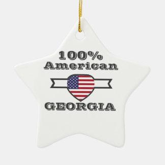 Americano del 100%, Georgia Adorno De Cerámica